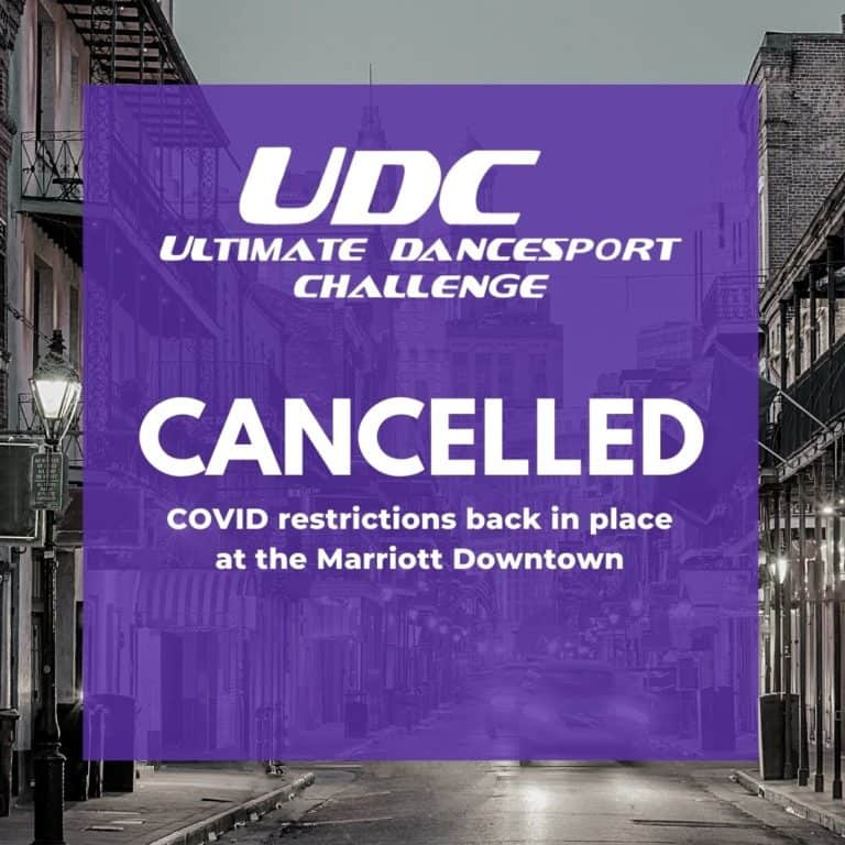 UDC 21 Cancelled!
